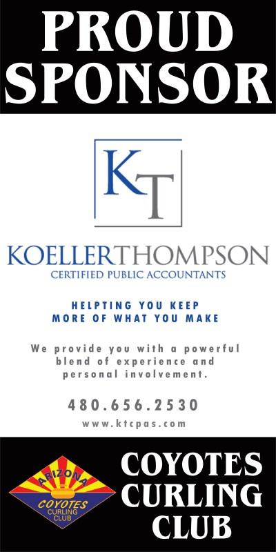 Koeller Thompson sponsor bulletin