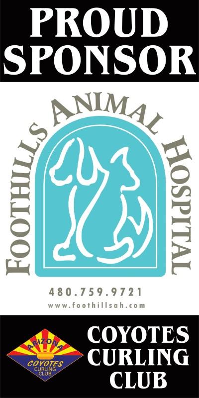 Foothills Animal Hospital sponsor bulletin